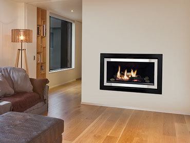 gas heating for your home - rinnai gas fire