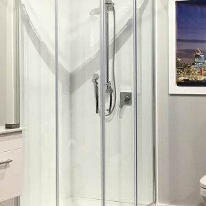 showerwell arena 900 shower by regency